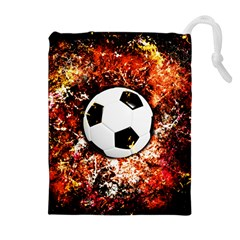 Football  Drawstring Pouches (extra Large)