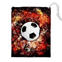 Football  Drawstring Pouches (xxl)