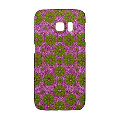 Paradise Flowers In Bohemic Floral Style Galaxy S6 Edge