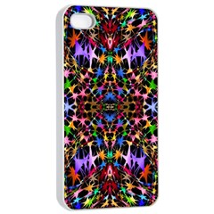 Colorful 16 Apple Iphone 4/4s Seamless Case (white)