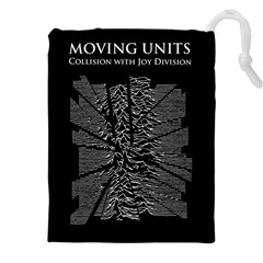 Moving Units Collision With Joy Division Drawstring Pouches (xxl)