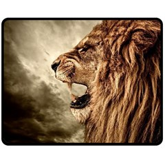 Roaring Lion Fleece Blanket (medium)