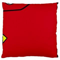 Pokedex Large Cushion Case (two Sides)