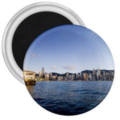 HK harbour 3  Magnet