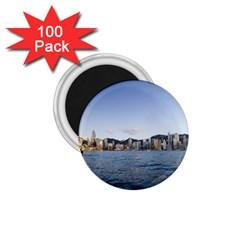 Hk Harbour 1 75  Magnet (100 Pack)