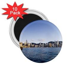 HK harbour 2.25  Magnet (10 pack)