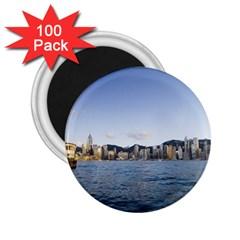 HK harbour 2.25  Magnet (100 pack)