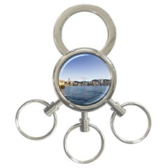 HK harbour 3-Ring Key Chain