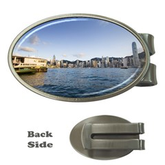Hk Harbour Money Clip (oval)