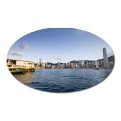 HK harbour Magnet (Oval)
