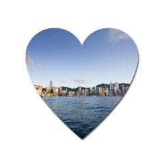 HK harbour Magnet (Heart)