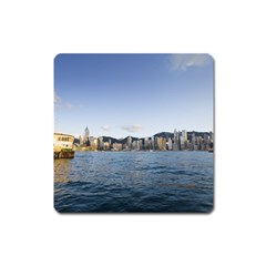 HK harbour Magnet (Square)