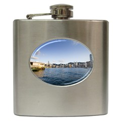 HK harbour Hip Flask (6 oz)