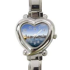Hk Harbour Heart Italian Charm Watch