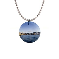Hk Harbour 1  Button Necklace