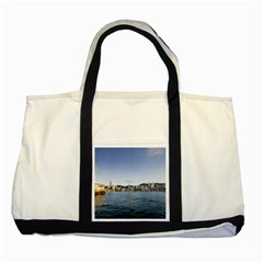 Hk Harbour Two Tone Tote Bag