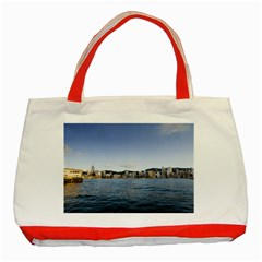 HK harbour Classic Tote Bag (Red)