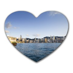 Hk Harbour Mousepad (heart)