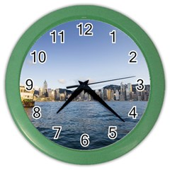 HK harbour Color Wall Clock