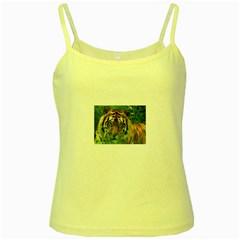 Tiger Yellow Spaghetti Tank