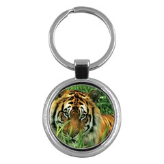 Tiger Key Chain (Round)