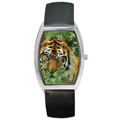 Tiger Barrel Style Metal Watch