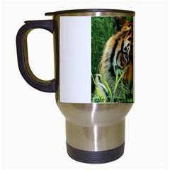 Tiger Travel Mug (white)
