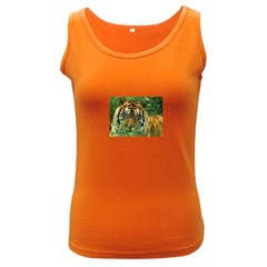 Tiger Women s Dark Tank Top