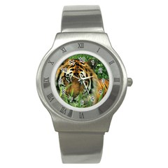 Tiger Stainless Steel Watch