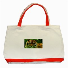 Tiger Classic Tote Bag (Red)