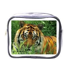 Tiger Mini Toiletries Bag (One Side)