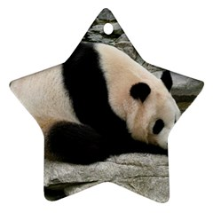 Giant Panda Ornament (Star)