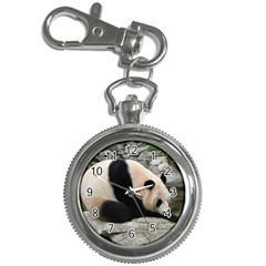 Giant Panda Key Chain Watch
