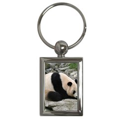 Giant Panda Key Chain (rectangle)