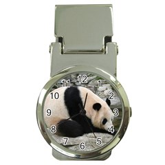 Giant Panda Money Clip Watch