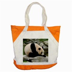 Giant Panda Accent Tote Bag