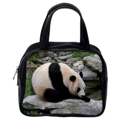 Giant Panda Classic Handbag (one Side)