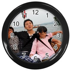 ?? 111 Wall Clock (Black)