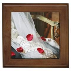 Western Wedding Festival Framed Tile