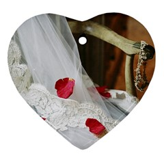 Western Wedding Festival Ornament (heart)