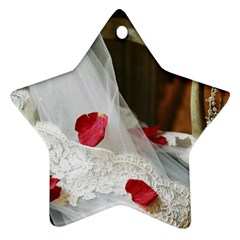 Western Wedding Festival Ornament (Star)