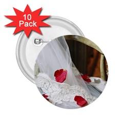 Western Wedding Festival 2 25  Button (10 Pack)
