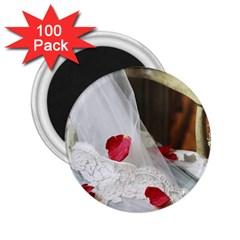 Western Wedding Festival 2 25  Magnet (100 Pack)