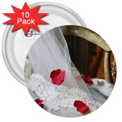 Western Wedding Festival 3  Button (10 Pack)