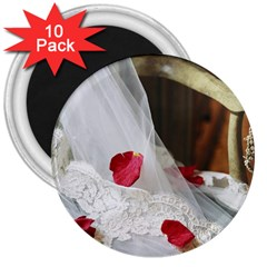 Western Wedding Festival 3  Magnet (10 pack)