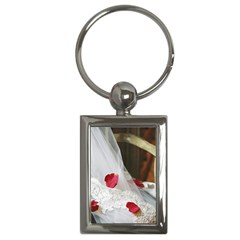 Western Wedding Festival Key Chain (Rectangle)
