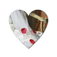 Western Wedding Festival Magnet (Heart)