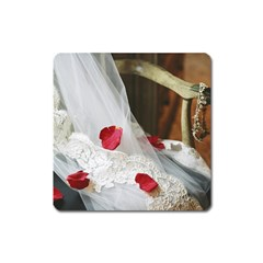 Western Wedding Festival Magnet (Square)