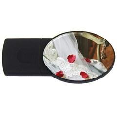 Western Wedding Festival USB Flash Drive Oval (1 GB)
