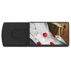 Western Wedding Festival USB Flash Drive Rectangular (2 GB)